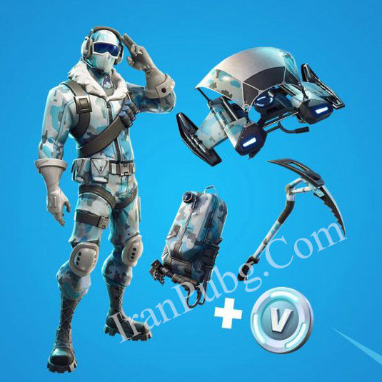 فورتنایت باندل fortnite deep freeze bundle