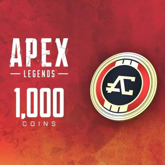 گیفت کارت Apex Legends 1000 Coins