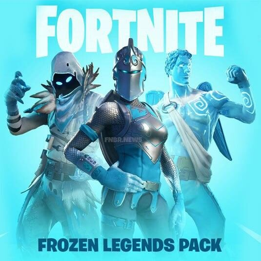 فورتنایت Frozen Legends Pack