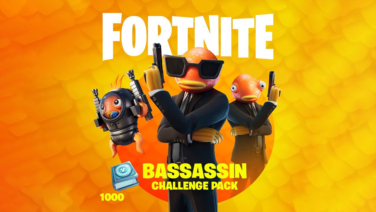 پک فورتنایت The Bassassin Challenge Pack