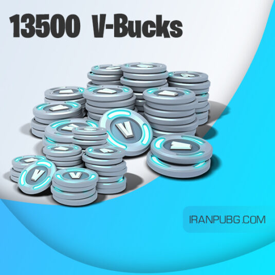ویباکس بازی فورتنایت Fortnite 13500 v-bucks
