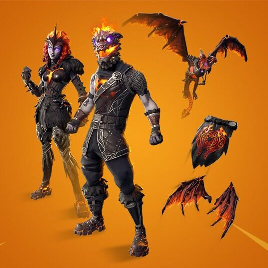 باندل Fortnite Lava Legends pack فورتنایت