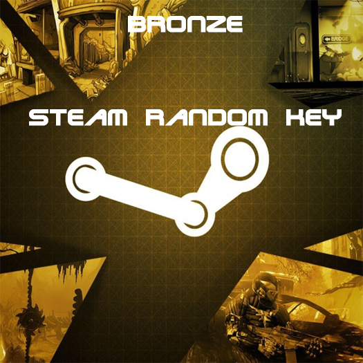bronze steam random key