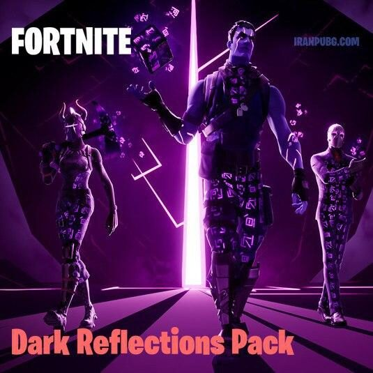 پک فورتنایت Dark Reflections Pack